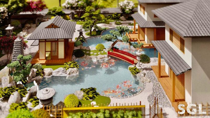 Thiết Kế Sân Vườn Biệt Thự SGL - SaiGon Landscape