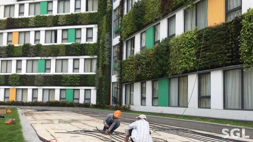 SGL - Saigon Landscape công ty thi công vườn thẳng đứng chuyên nghiệp
