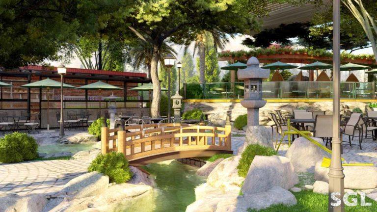 Thiết Kế Quán Cà Phê Vườn Nhật - Bình Phước | SaiGon Landscape