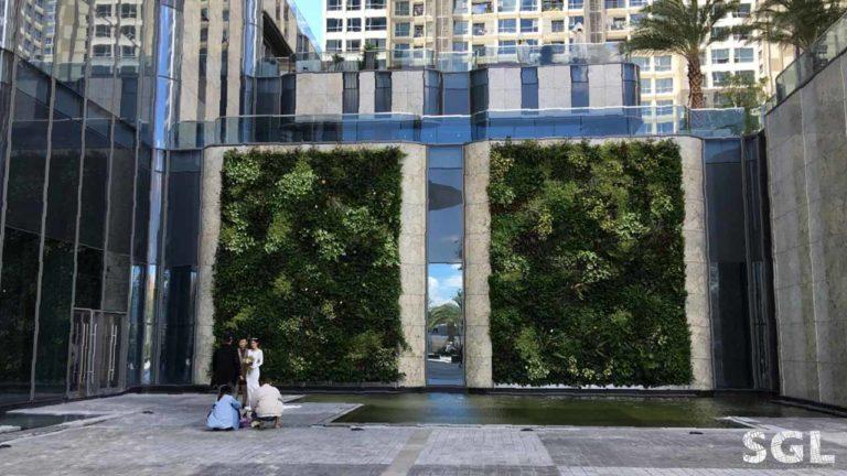 Dự án Thi Công Vườn Đứng Landmark 81 của SGL