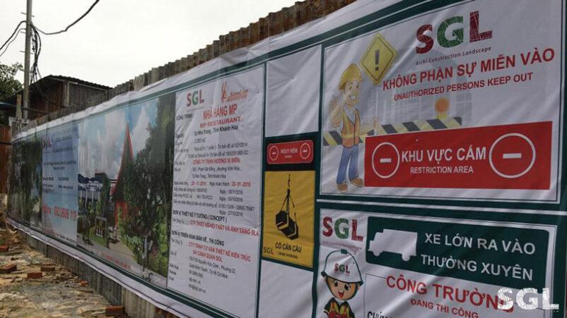 SGL thi công dự án nhà hàng MP Thái Seafood tại Nha Trang
