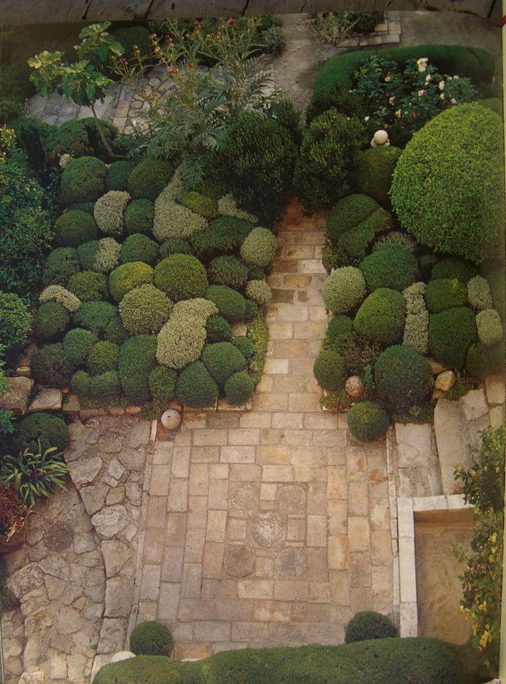 khu vườn lá louve jardin bonnieux