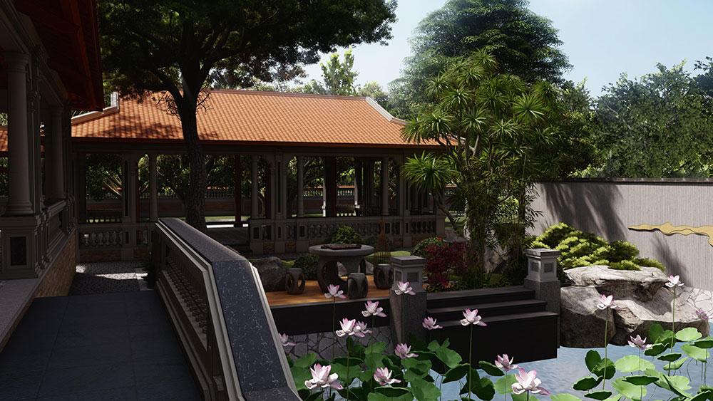 nhà vườn đẹp ở việt nam