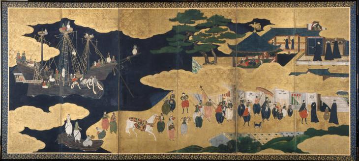 vườn zen vào thời kỳ heian