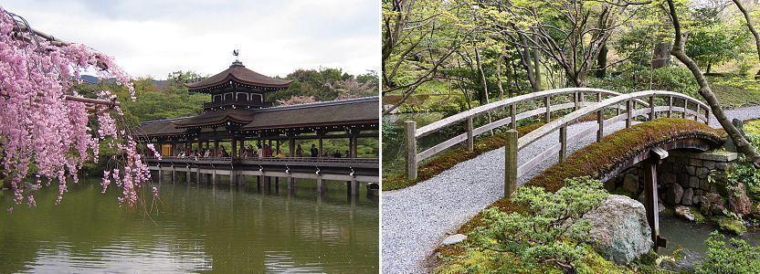 các kiểu cầu trong vườn nhật