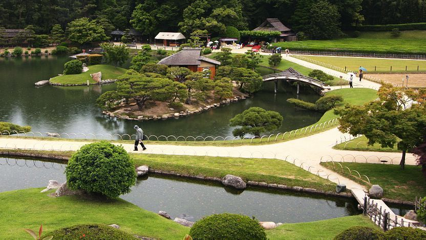vườn nhật Korakuen