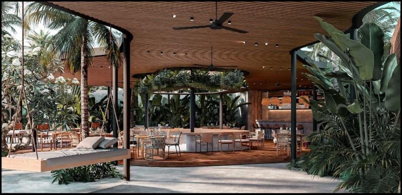 Quán cafe sân vườn đẹp - THE BRIX