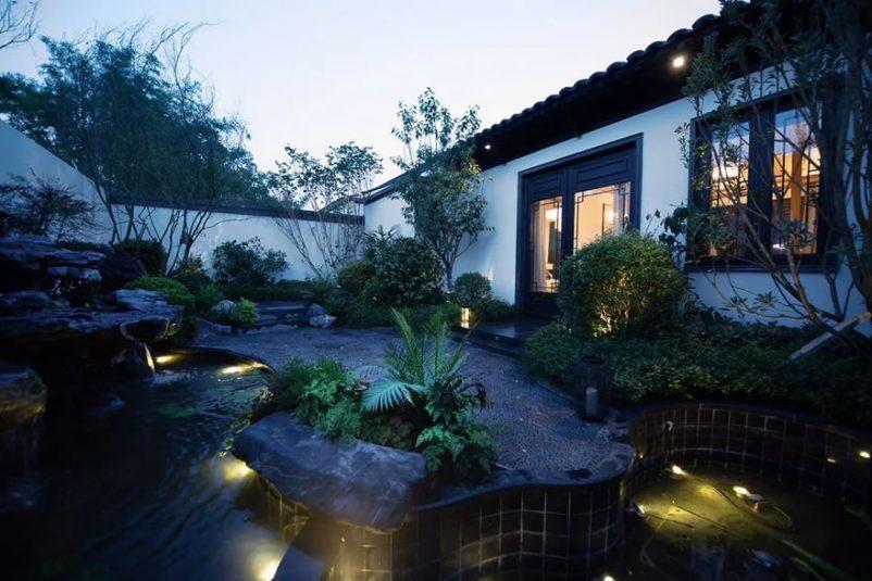 Mẫu sân vườn nhà cấp 4 đẹp hiện đại