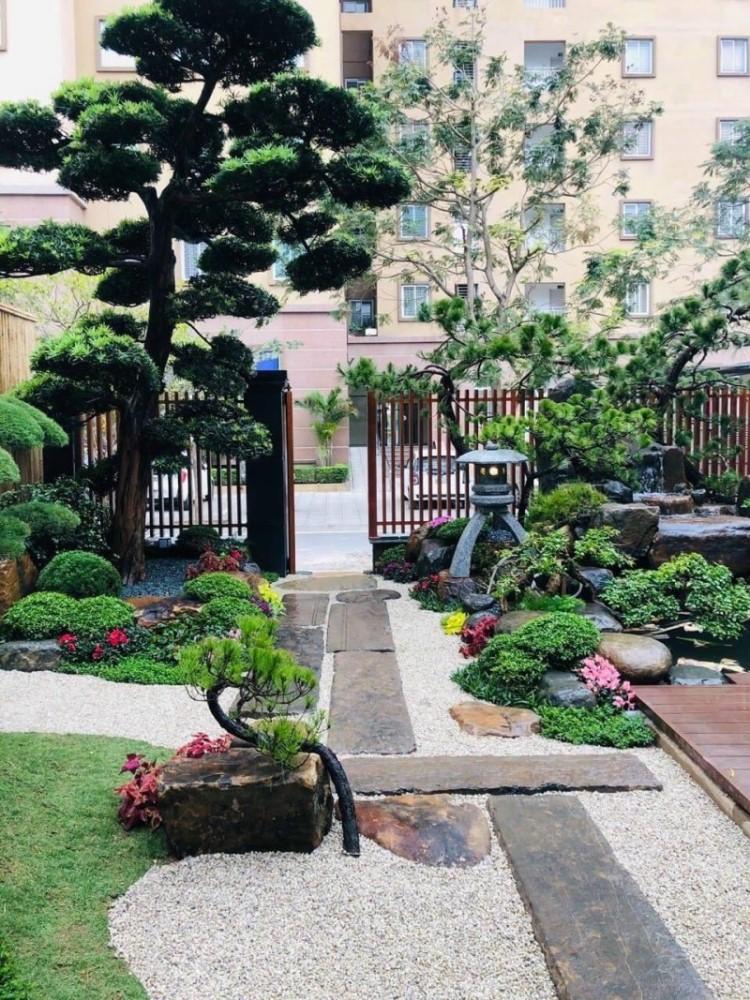 Mẫu thiết kế vườn Nhật đẹp cho nhà phố