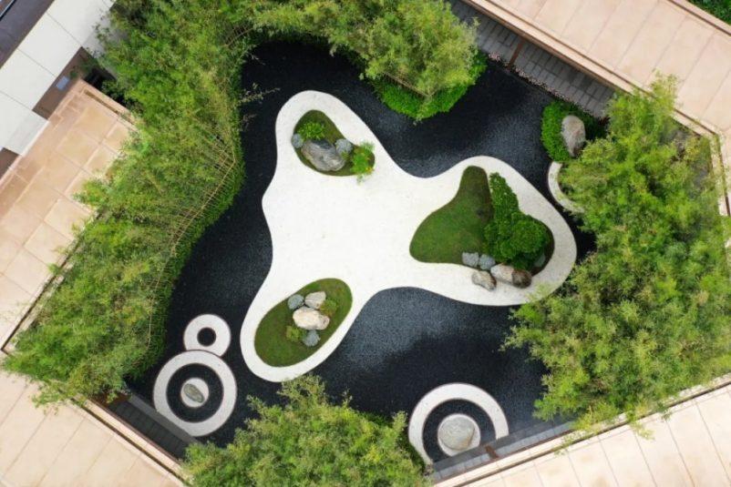 Mẫu thiết kế vườn zen cho nhà phố