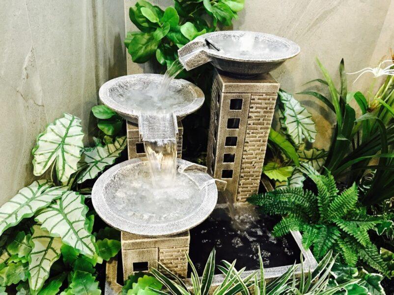 mẫu tiểu cảnh thác nước mini trong nhà