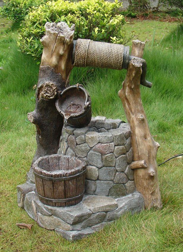 mẫu thác nước kiểu giếng việt nam truyền thống