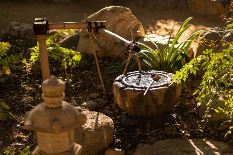 mẫu tiểu cảnh thác nước mini kiểu nhật