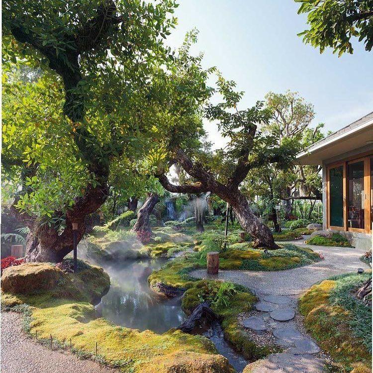 mẫu nhà vườn 1 tầng đẹp ấn tượng