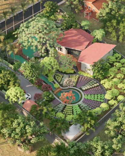Dự án thiết kế nhà vườn farmstay tại Quảng Nam - SGL SaigonLandscape