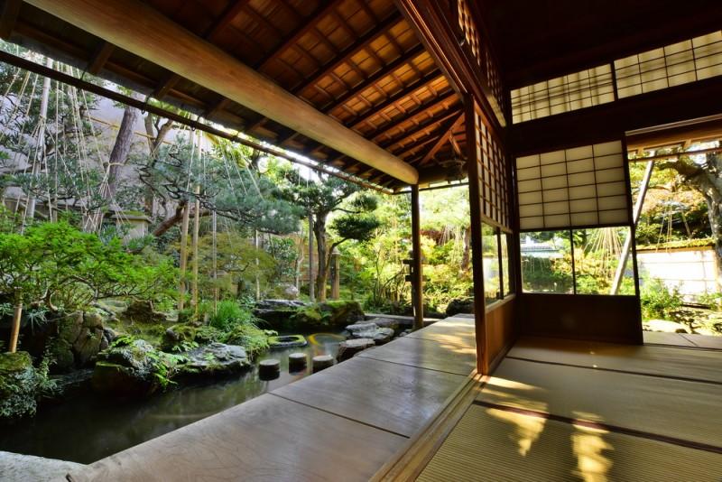 Không gian trà thất tinh tế ở Nhật Bản