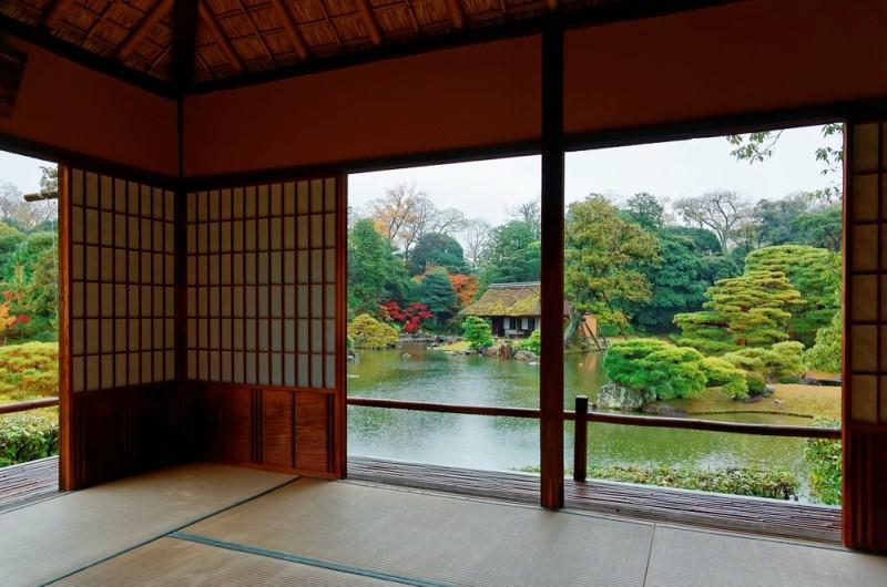 Mẫu thiết kế kiến trúc không gian phòng trà đạo đỉnh cao ở biệt thự hoàng gia katsura