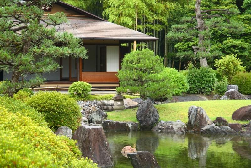 Mẫu thiết kế kiến trúc không gian phòng trà đạo đỉnh cao ở kyoto