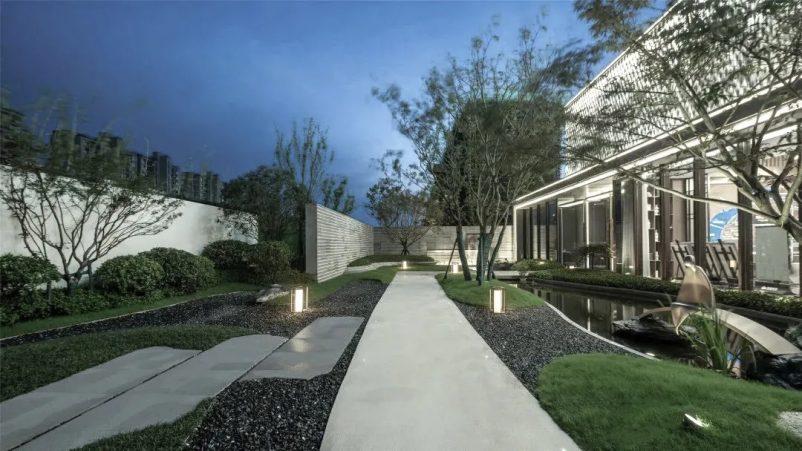 Mẫu nhà vườn 1 tầng đẹp hiện đại