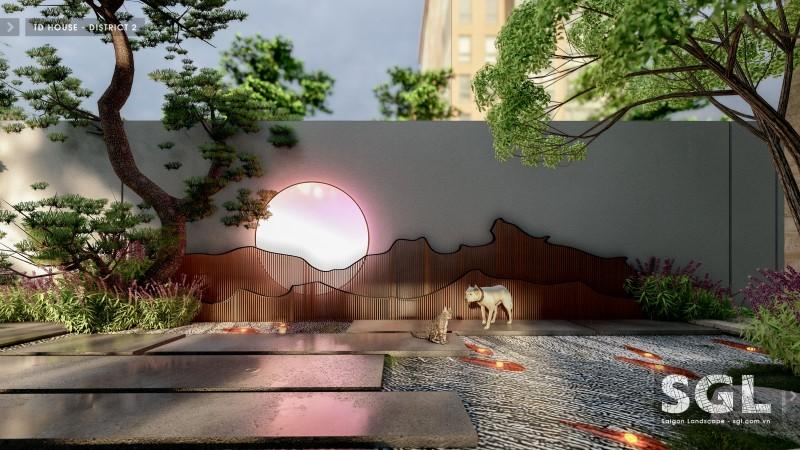 Vườn Nhật – nét đẹp tinh tế, tạo nên dáng vẻ mới cho khu vườn