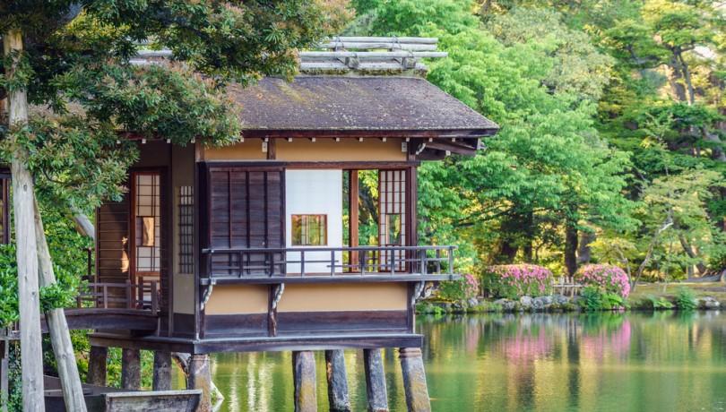 tinh hoa kiến trúc trà thất Nhật Bản