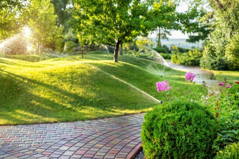 Hệ thống tưới sân vườn thông minh