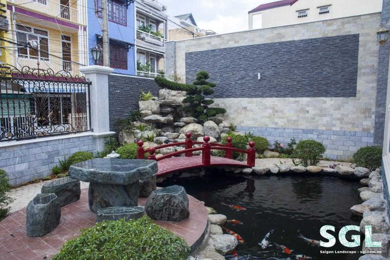 Mẫu sân vườn biệt thự đẹp, đẳng cấp ở Bình Dương