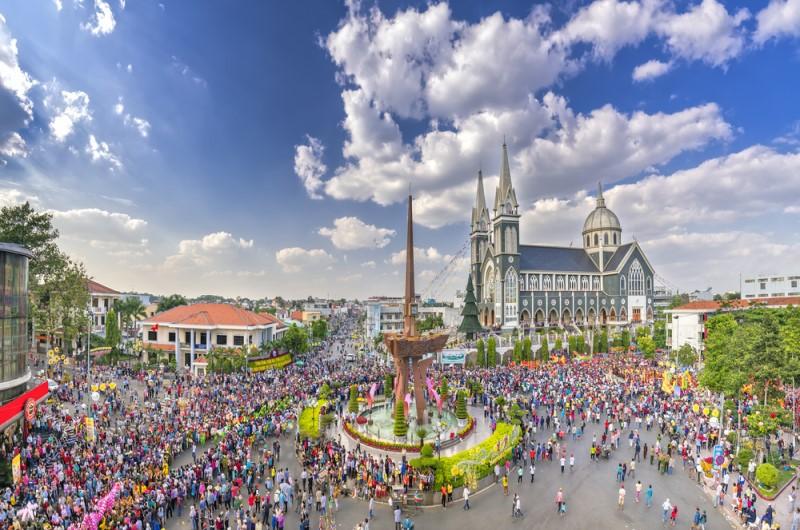 Lễ hội trung thu ở thành phố Thủ Dầu Một