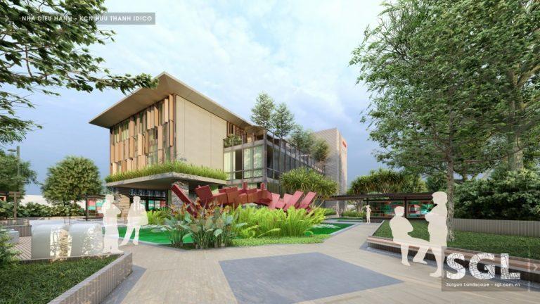 Dự án thiết kế nhà điều hành khu công nghiệp Hữu Thạnh - IDICO