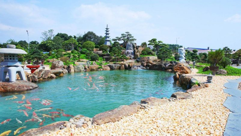 Dự án Thiết Kế Cảnh Quan Khu Du Lịch Dũng Tân Center SaiGon Landscape