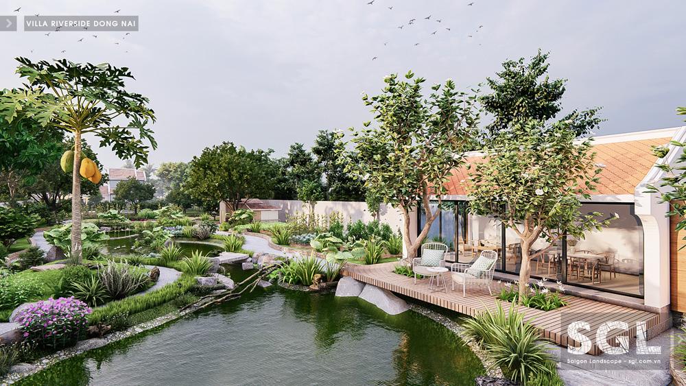 Dự án thiết kế nhà vườn Villa Riverside Đồng Nai