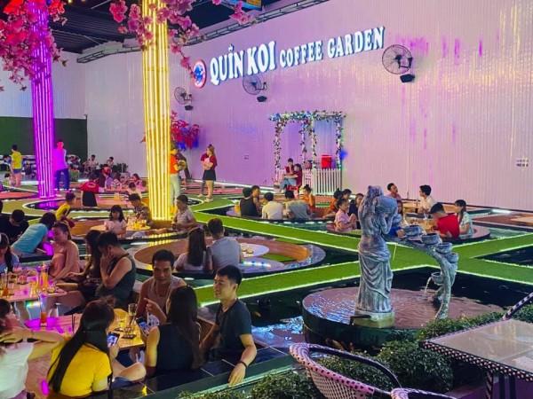 Quán cafe Quin Koi Coffee Garden
